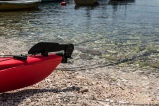 kayak rudder, sea kayak, &Adventure, arboursabroad, sea kayaking in Croatia