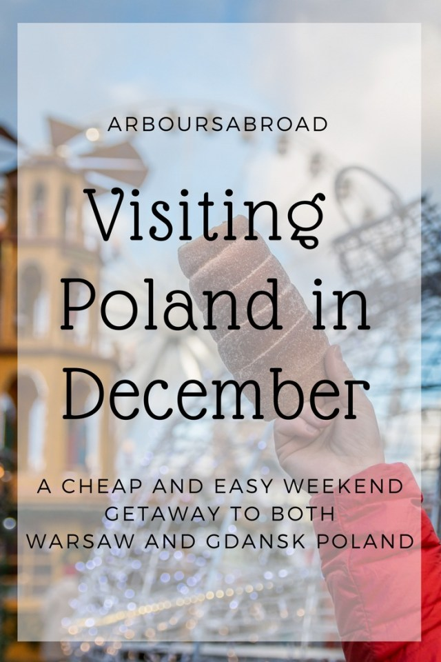 Poland in December, canva, Christmas Market, Gdansk, arboursabroad