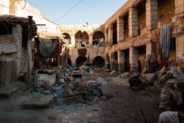 visiting fez, fez tannery, dying leather, arboursabroad
