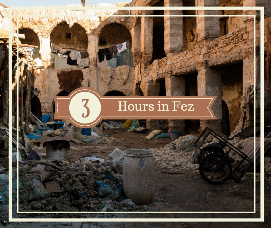 Visiting Fez, Morocco   An ArboursAbroad 3 Hours in Fez