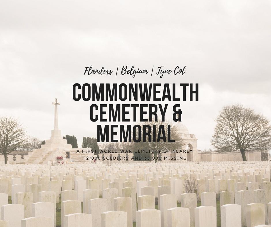 Tyne Cot Cemetery, West Belgium, Flanders, arboursabroad, Belgium history