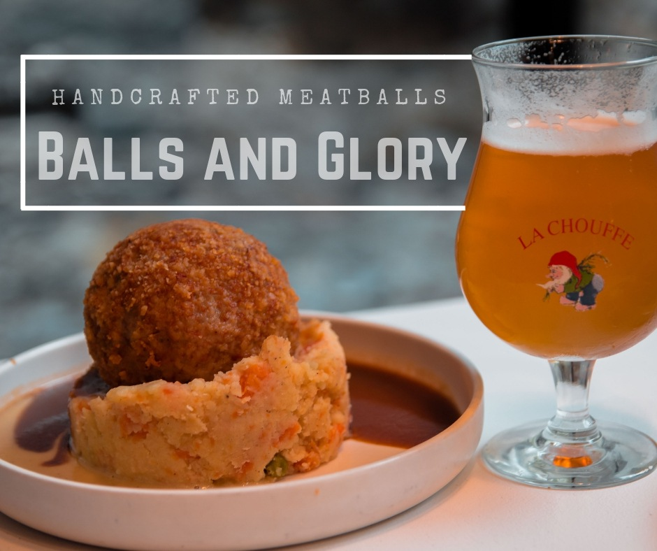 Where to eat in Ghent, Gent, Belgium, Balls and Glory, arboursabroad