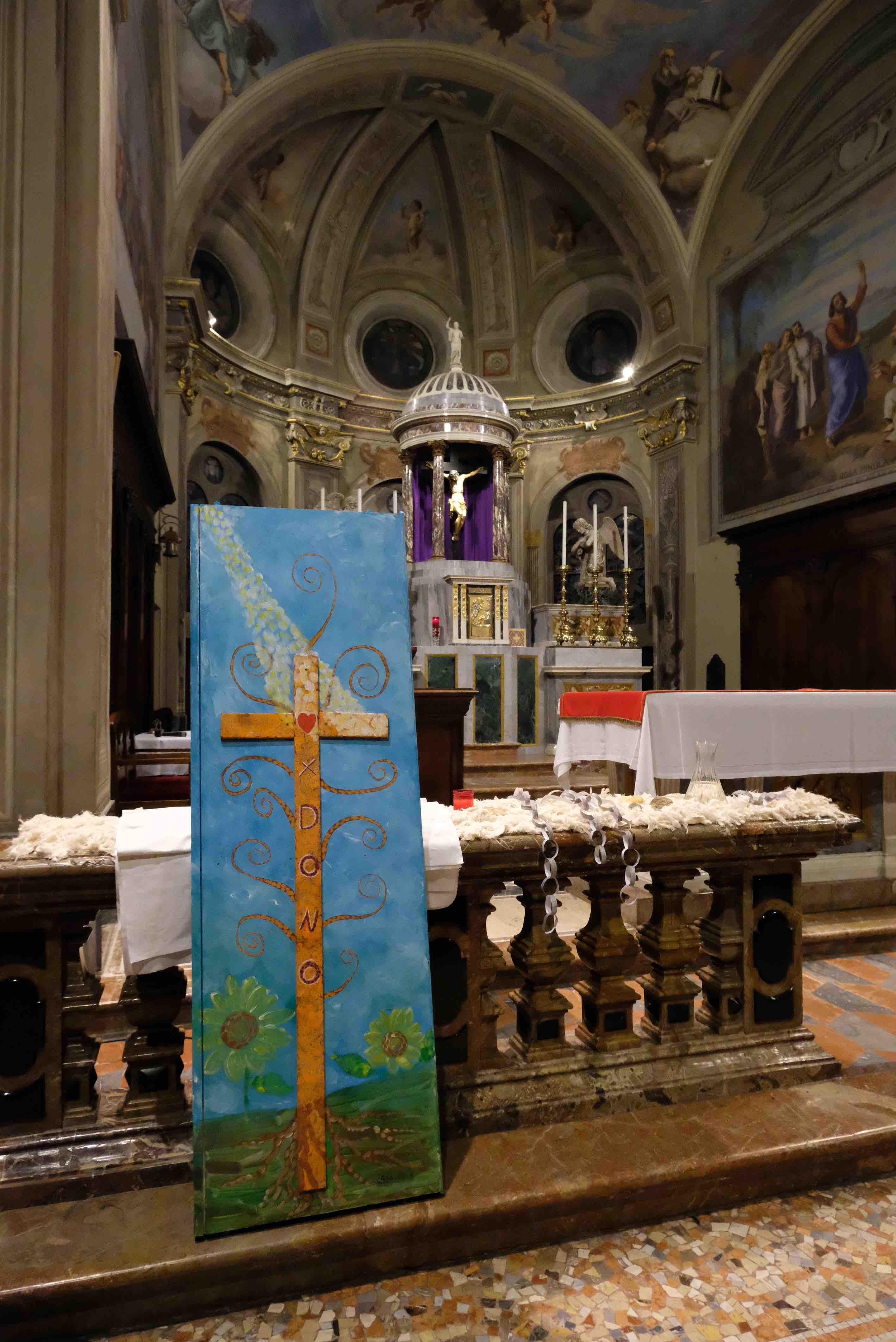 """""""Croce… albero della vita: X-DONO"""", la nostra opera per essere comunità nella comunità"""