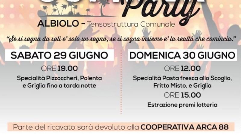 """""""Summer Party"""" ad Albiolo, gli Artisti di Arca 88 protagonisti all'evento dell'Associazione PMP"""