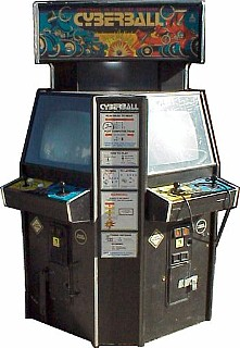 Cyberball arcade game