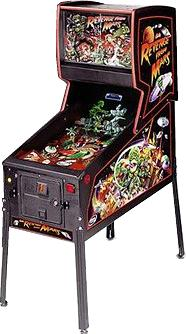 Revenge From Mars - Pinball by Williams Electronic Games ...