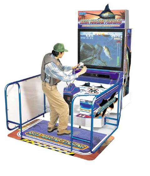 Image result for fishing arcade game