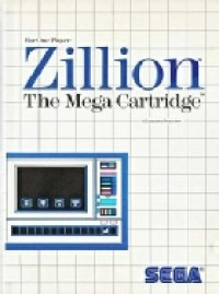 1 - Zillion Master System Game Cover Image