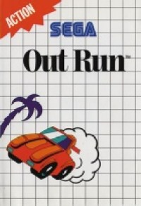 2 - Out Run Master System Game Cover Image