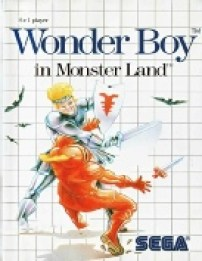 4 - Wonder Boy Master System Game Cover Image