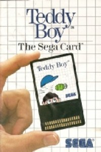 9 - Teddy Boy Master System Game Cover Image