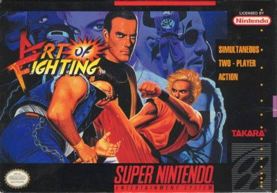 Art Of Fighting Snes Review Arcade Attack
