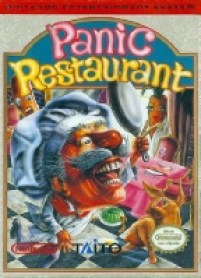 5 Panic Restaurant Nes Game cover image