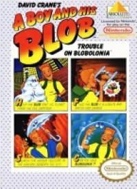 9 A Boy 'n his Blob NES Game Cover Image