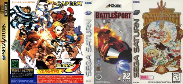 Top Ten - Rarest Sega Saturn Games! - Arcade Attack