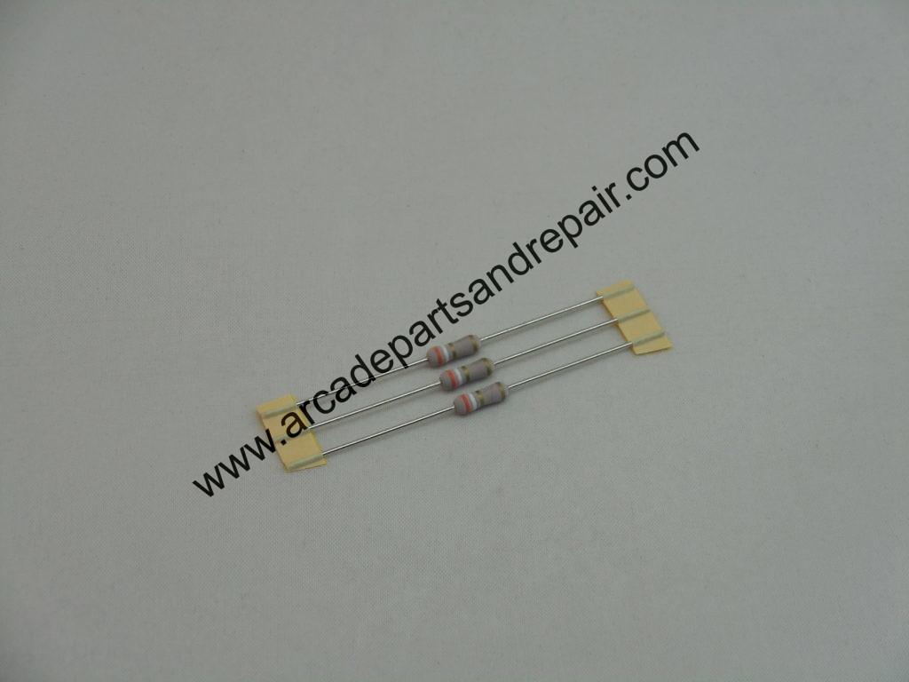 3 9 Ohm 1 Watt Metal Oxide Power Resistor 3 Pieces R Arcade Parts And Repair