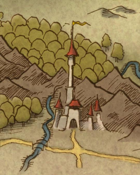 De kaart van de Wilde Landen