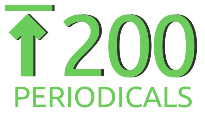 top 200 periodicals