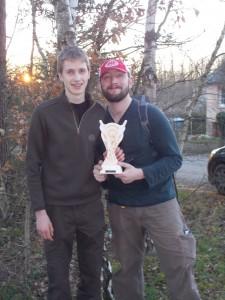 le trophée pour la 3è place