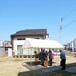 地鎮祭 in クロスタウン旭岡