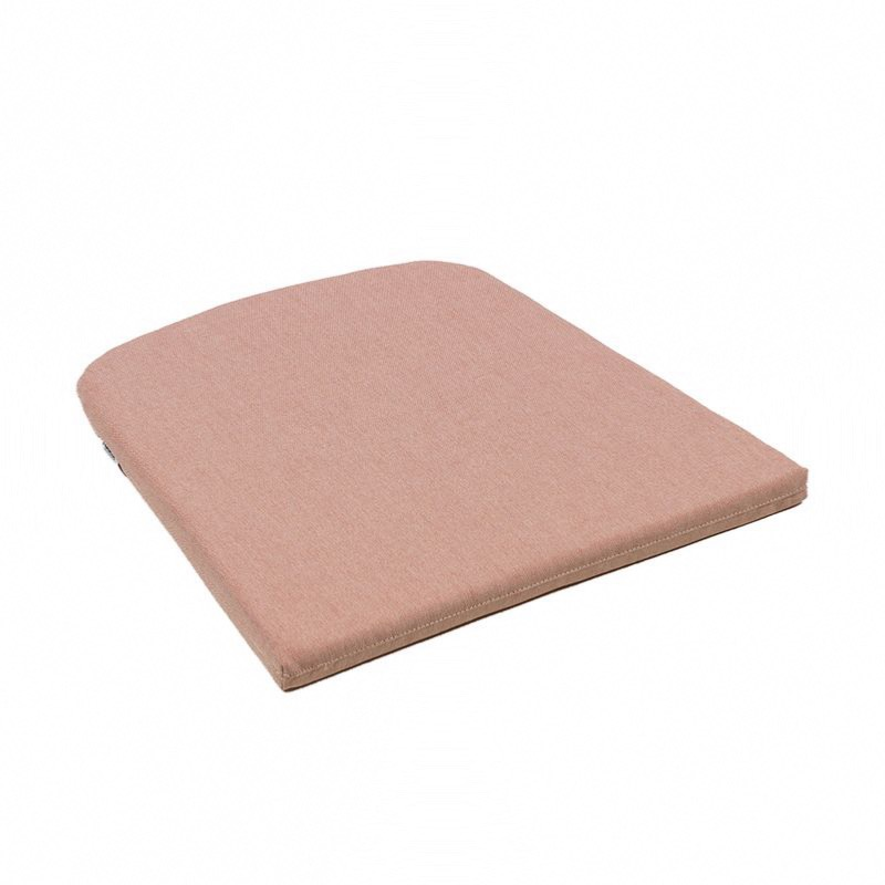 coussin pour fauteuil net coloris rose quartz nardi