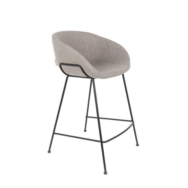 chaise haute feston gris 65 cm zuiver