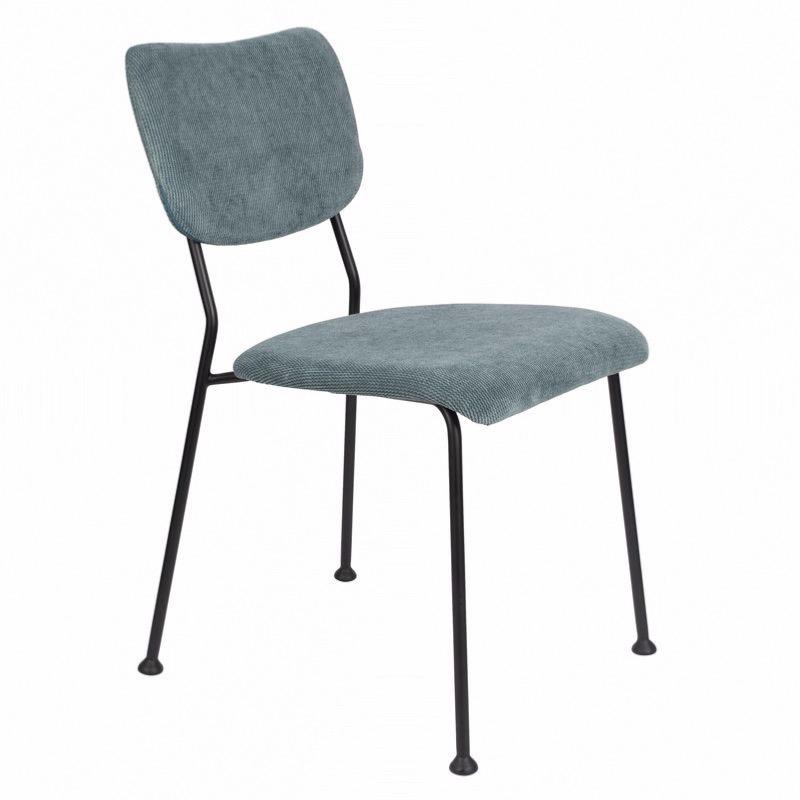 chaise benson gris bleu zuiver