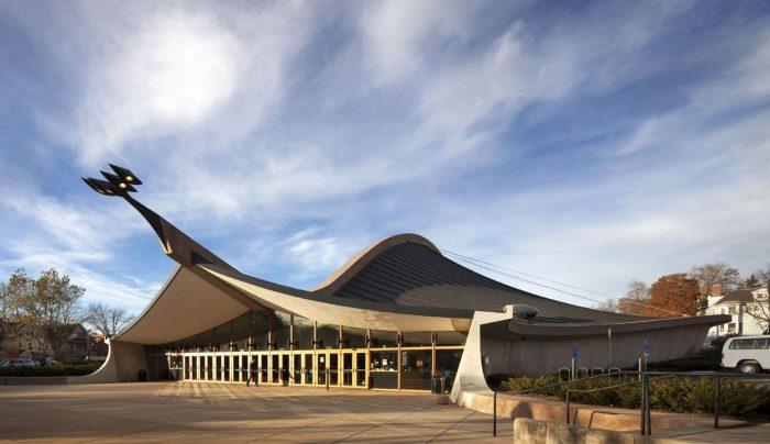 David S.(Eero Saarinen, Connecticut, USA)|| Modern Architecture - Archnotitia