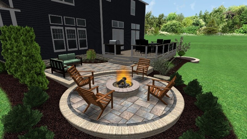 columbus oh custom outdoor fire pits