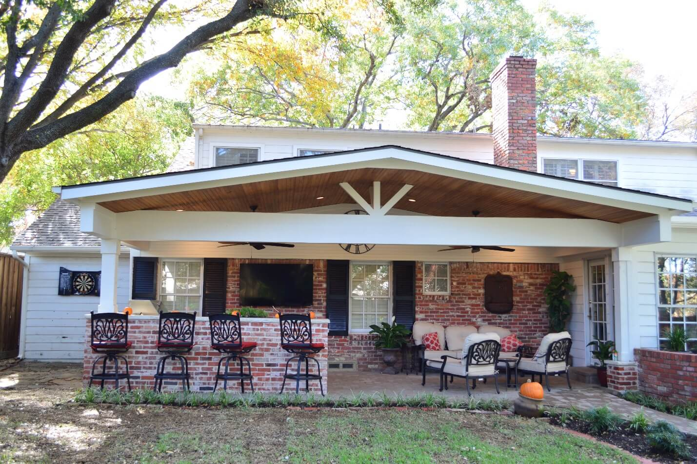 easy inspired covered patio