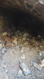 The cache in situ - image: ORNC