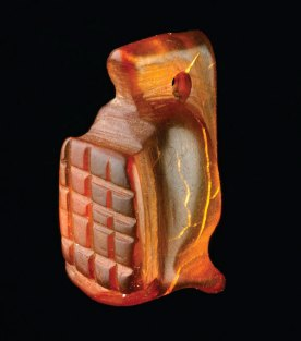 6.Amber-Gladiator-amulet-_-Museum-of-London-Archaeology