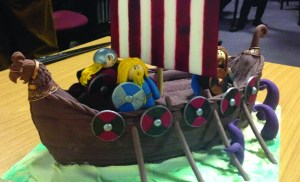 Edible Archaeology: Viking longship