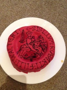 Edible Archaeology : Fitzwalter seal matrix