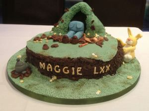 Edible Archaeology: birthday burrowing