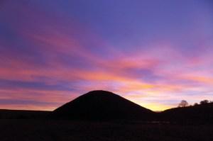 Silbury-sunrise-silhoutte