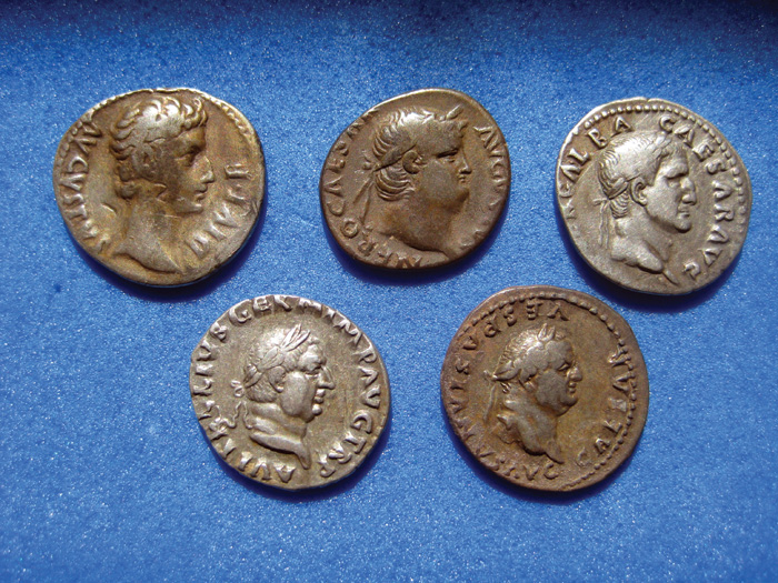 Coins from a Roman hoard found near Wrexham. (Image  National Museum of  Wales) 09194fc5823