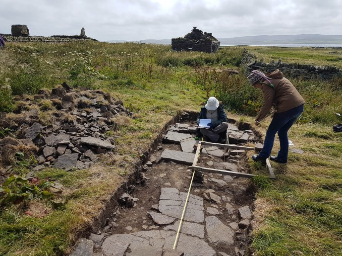 Skaill Farm, Rousay, Orkney [Photo Caption: UHI Archaeology Institute]