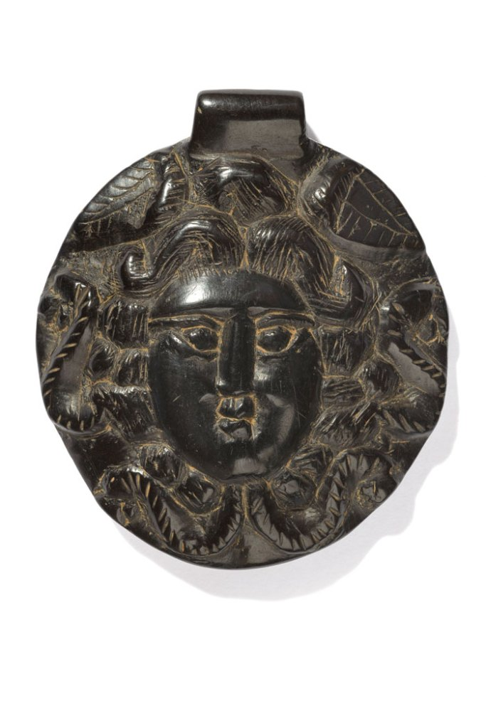 Jet pendants bearing portraits and images of Medusa were found at Colchester