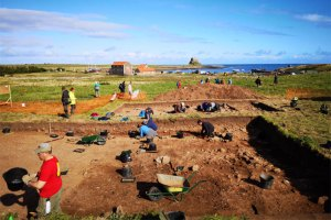 Lindisfarne-(trench-view)