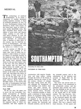 First page of article on Southampton in CA 1