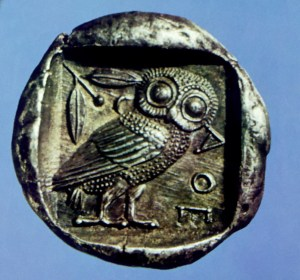 Greece Athens Owls
