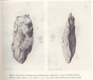 hacha de mano-Madras, India y pallawaram-rb-Foote
