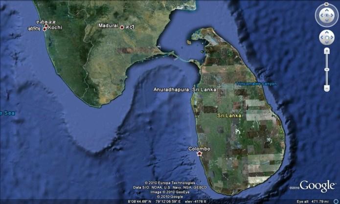 sri-lanka-google-earth