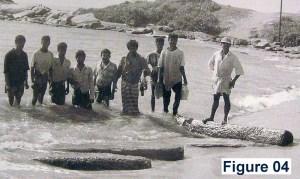 Figure 04 – Stone Pillars at the beach