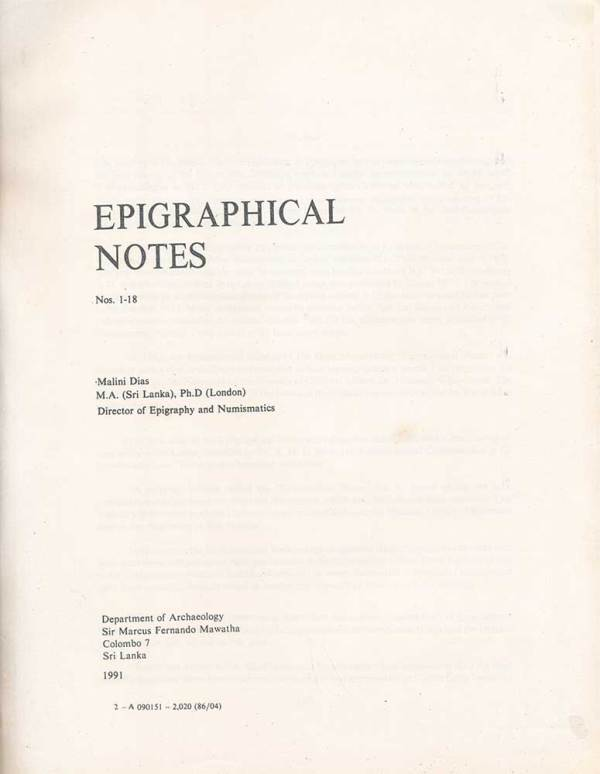 epigraphical_notes_no_1_18_01