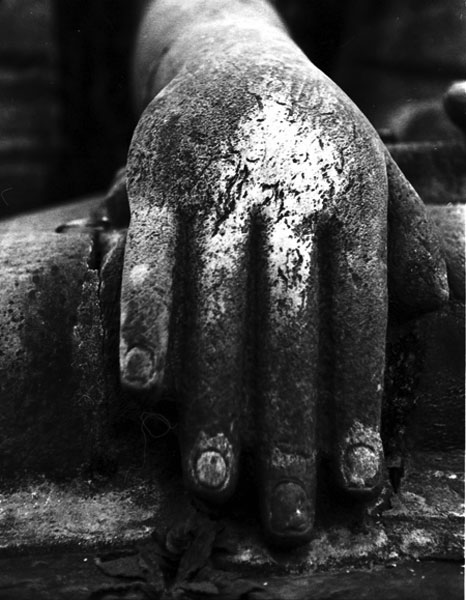 Hand of Buddha, 5th century AD, Nepal