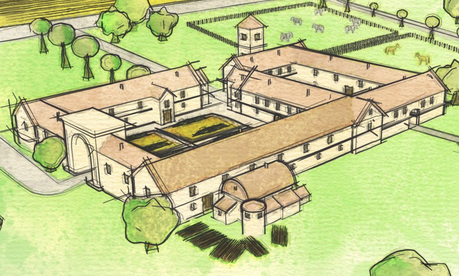 Unique Roman Villa Accidentally Found In Wiltshire