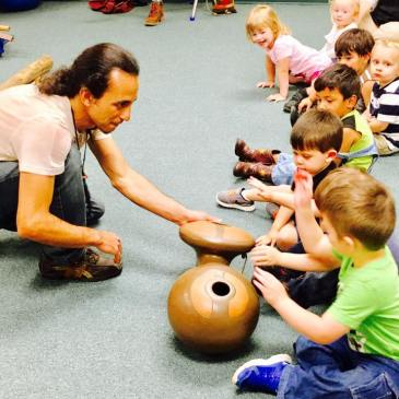 What is an educational indigenous instrument presentation?