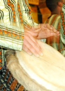 Drumming for well-being